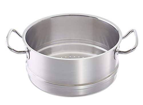 Fissler Profi Collection Complemento para vaporera Compatible con ollas aptas para cocinas...