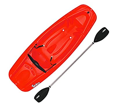 Pelican Solo 6 Feet Sit-on-top Youth Kayak  Pelican Kids Kayak Perfect for Kids Comes with Kayak Accessories