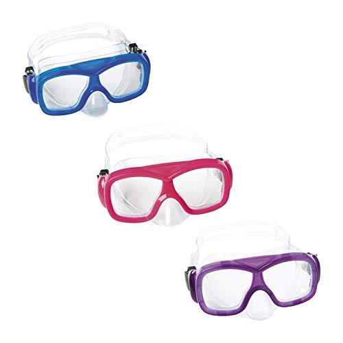 Bestway 22039 Máscara de Buceo Aquanaut a Partir de 7 Años, Unisex niños, Multicolor