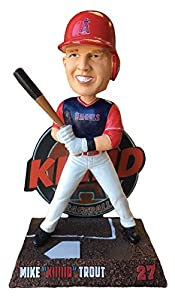 Forever Collectibles Mike Trout Los Angeles Angels Players Weekend Special Edition - KIIIIID Bobblehead