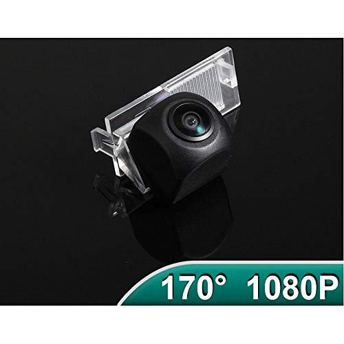 WDGXZM 170 ° AHD 1080P Fahrzeug Rückfahrkamera Schrägheck Citroen E-Elysee C-Quatre,Für Peugeot 301 308 405 508 C4 C5 3008 307 A-680x480-120 Grad