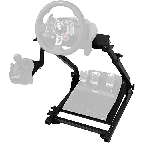 VEVOR G920 Lenkradständer für Logitech G27 G25 und G29 Lenkrad Gaming Wheel Stand Racing Lenkradständer mit V2 Schalthebelhalterung