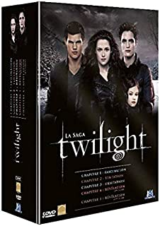 Twilight, La Saga – L'intégrale des 5 Films – Coffret DVD
