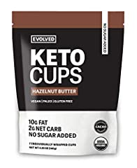 Only 7 simple ingredients Keto-friendly snack with 10 grams of fat and 2 gram net carbs Paleo, vegan & gluten free High quality organic ingredients 7 cups per pouch: one for each day of the week!