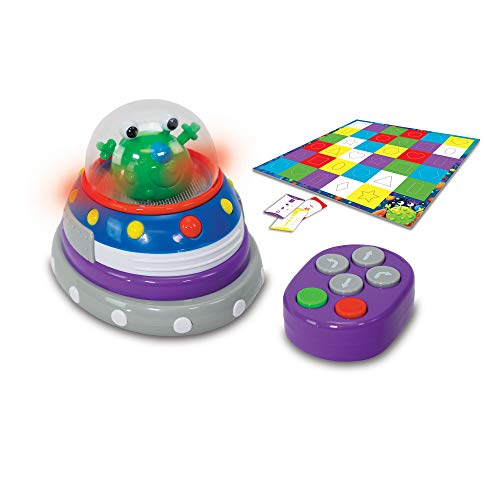 The Learning Journey Code and Learn! - Space Ship - Introduces & Teaches Coding STEM Toy - Toys & Gifts for Boys & Girls Ages 5 Years and Up