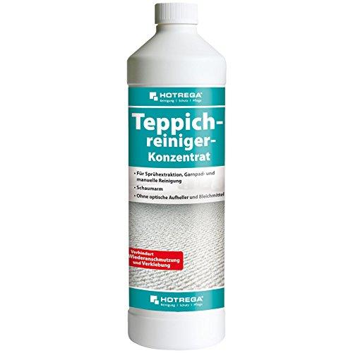 HOTREGA tapijtreiniger concentraat 1L - professionele reiniger voor tapijten en kussens