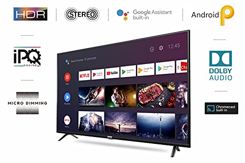 iFFALCON 103 cm (40 inches) Full HD Android Smart LED TV 40F2A (Black) (2021 Model) | With Built-in Voice Assistant 2