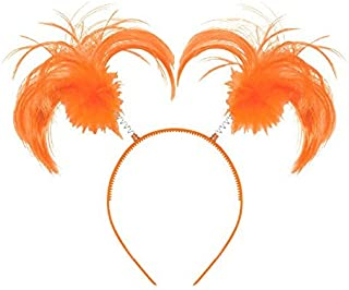 Amscan Ponytail Headband, Party Accessory, Orange