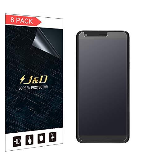 JundD Kompatibel für 8er Packung Sharp AQUOS B10 Bildschirmschutzfolie, [Antireflektierend] [Nicht Ganze Deckung] Matte Folie Schutzschild Bildschirmschutzfolie für Sharp AQUOS B10 - [Nicht für AQUOS C10]