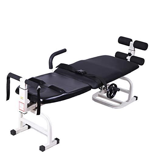 Dispositivo de tracción cervical, dispositivo de tracción lumbar, cama de tracción, hernia de disco lumbar, dispositivo de tracción, cinturón de cintura, dispositivo de corrección de columna vertebral