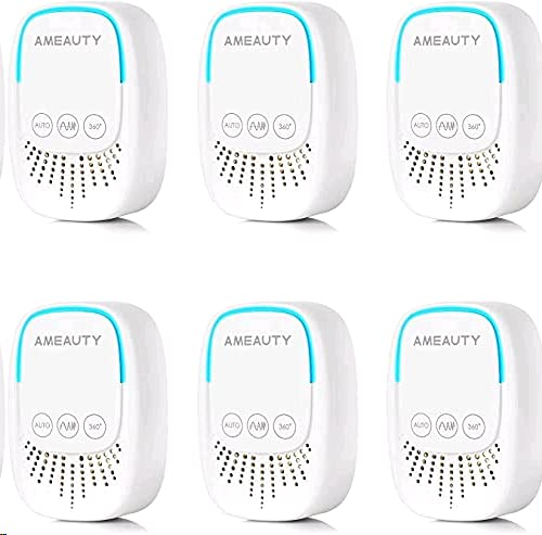 Ameauty Ultrasonic Pest Repeller - 5Pack Pest Control Ultrasonic Mosquito Repellent Plug in Indoor Usage, Electronic Insects & Rodents Repellent