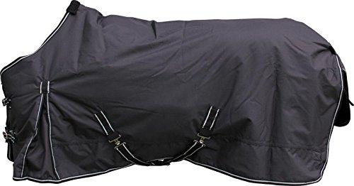 Eldorado Winterdecke für Pferde, 300 g - schwarz - 125 cm
