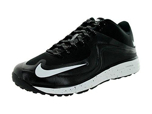Nike Mens Lunar MVP Pregame II Trainers 12 US Black/White