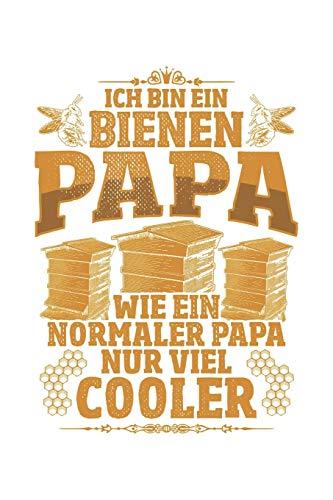 Bienen-Papas sind cool: Notizbuch / Notizheft für Imker Vater Imker-in Imkern Groß-Vater Opa A5 (6x9in) liniert mit Linien