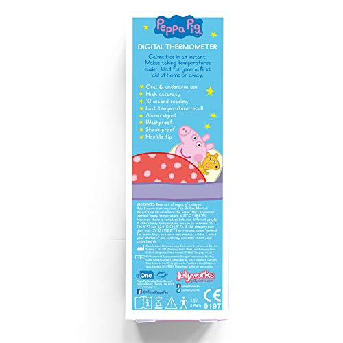 Peppa Pig Digital Thermometer (by Jellyworks)