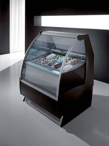 ITALIANA Gelato Ice Cream Showcase Display Freezer /Gelato Machine G10 (5 Liter Pan / 7 Flavors)