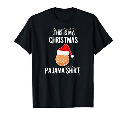 Basketball Schlafshirt Pyjama Schlafanzug Nachthemd Geschenk T-Shirt