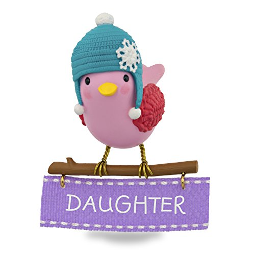 Hallmark Keepsake 2017 Winter Bird Daughter Christmas Ornament