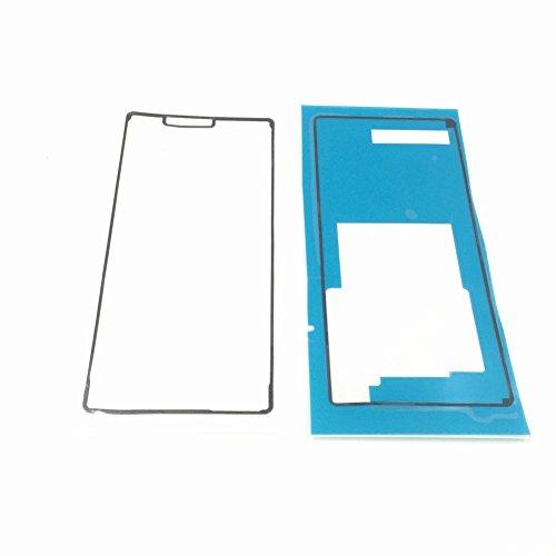 ixuan para Sony Xperia Z3L55T D6603D6653adhesivo pantalla táctil Marco cinta adhesiva para (Negro)