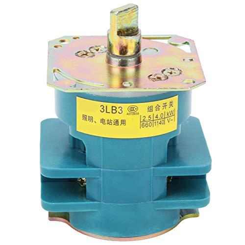 Jeanoko Instalación de aislamiento de aislamiento, interruptor de transferencia, pequeño interruptor de conversión, para iluminación integrador técnico basculante para protector