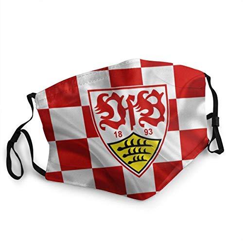 VfB Stuttgart,Wiederverwendbare Staubdichte,Mundschutz,Anti Wind Gesichtsdekorationen,Face Scarf,Unisex Stirnband