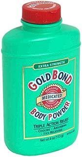 Gold Bond Medicated Body Powder, Extra Strength, 4 Ounces