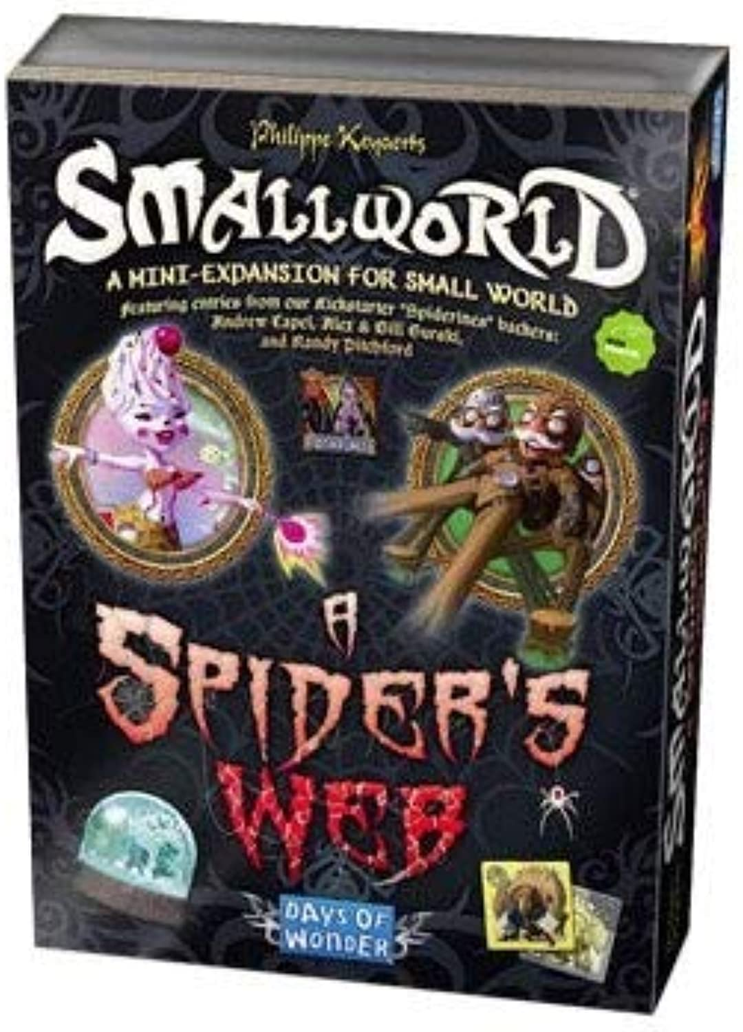 Days of Wonder Small World Spiders Web