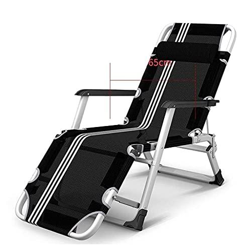 CCLLA Sillas Zero Gravity, sillas Plegables reclinables, tumbonas con tumbonas, tumbonas, sillones reclinables, tumbonas de Patio al Aire Libre, superancho 65 cm (Color: 7)