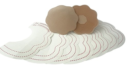 NEW Bye Bra Breast Lift & Silicone Nipple Covers Breast, Cleavage Bust Enhancer Sizes from A-C, D-F, F-H (Silic F-H)