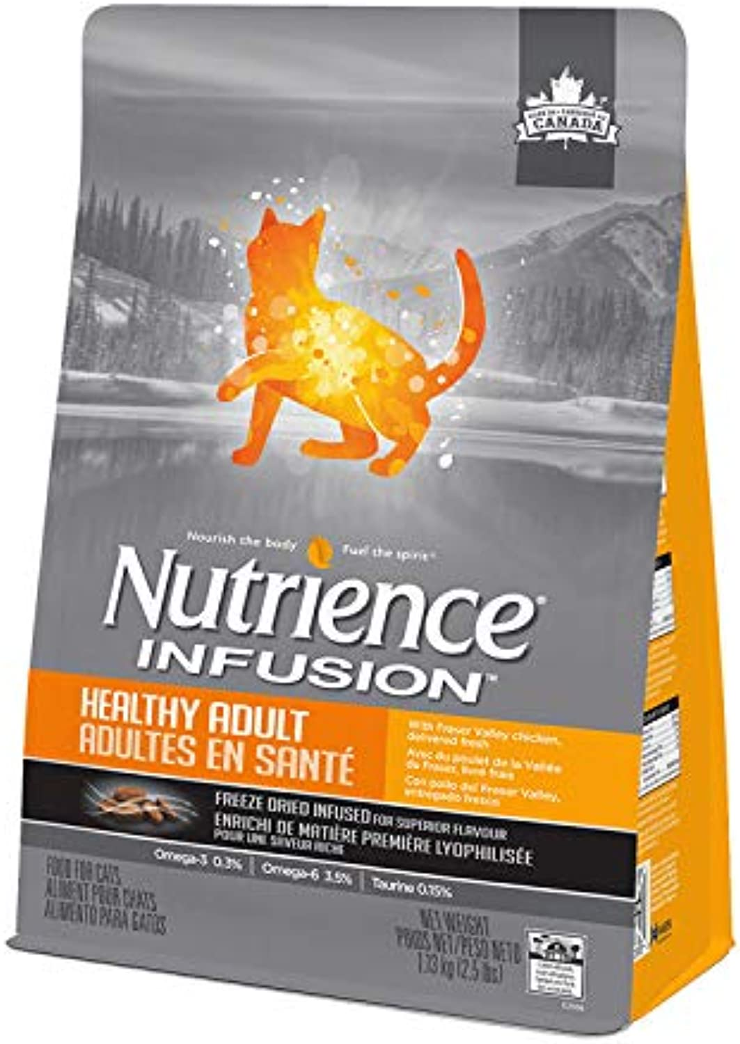 Nutrience Infusion Adult Cat Food (5lb)