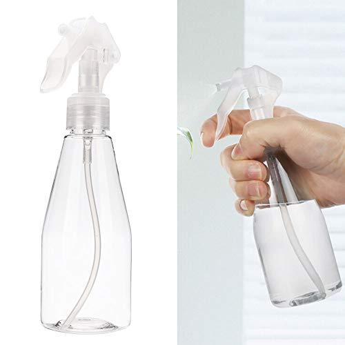 Bouteille de pulvérisation portable 200ml, bouteille de pulvérisation en plastique, bouteille de pulvérisation vide, bouteille de pulvérisation de maquillage portable transparent en plastique mini