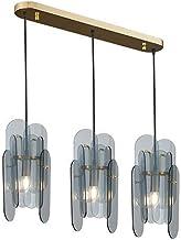 CCAN 3-światła europa północna lampa wisząca nowoczesny szklany żyrandol E14 wisiorek światło do jadalni kuchnia wyspa sal...