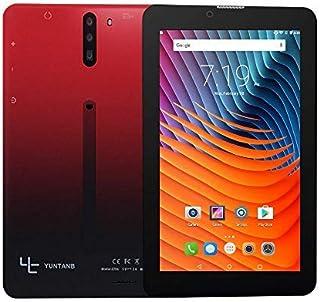 YUNTAB Smartphone tablet Android sbloccato da 7 pollici 3G , supporto doppia SIM, processore quad core da 1,3 GHz, ROM 16 ...