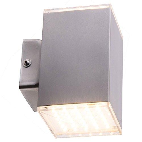 10,5 Watt LED Haus Wand Strahler Up & Down Leuchte Grundstück Akzent Lampe Heitronic 35273