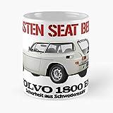 Havana Car 1800 Volvo P1800 Swedish 1800Es ES Cars Cadeau Tasse à café 11 oz
