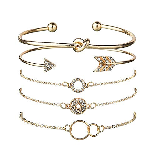 shuxuanltd Braclets Ladies Bangles Friendship Bracelet Cheap Bracelets for Women Sister Bracelet Friendship Bracelets for Women Friendship Bracelets Gold