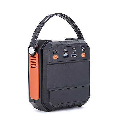 Generatore Portatile Power Inverter 80W 22500mAh Batteria Ricaricabile Alimentazione di Emergenza, Accumulatore di Energia, AC Uscita, per Campeggio, CPAP Backup di Emergenza Campeggio