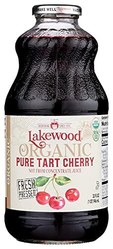 Lakewood Pure Tart Cherry, Fresh Pressed, (32 Fl Oz (Pack of 6))