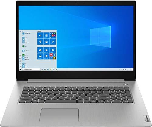 "2020 Lenovo IdeaPad 3 17"" Laptop, AMD Ryzen 7 3700U, Webcam, Fingerprint Reader, Numeric Keypad, Bluetooth, HDMI, AMD Radeon Vega 10 Graphics, Windows 10, Platinum Grey (12GB 128GB SSD 1TB HDD)"
