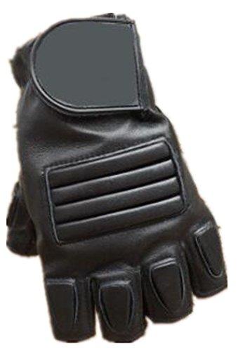 Punk familia hombres casual deportes protección antideslizante resistente al desgaste guantes al aire libre