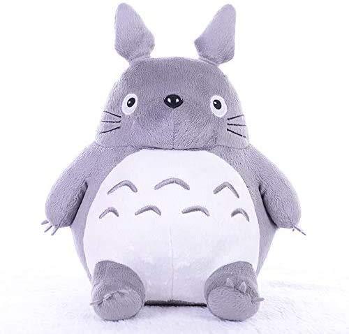 DEMIN Juguetes de Peluche Totoro, muñecos de Animales de Peluche de Gato Gordo Lindo, cojín de Almohada Suave, Juguete para niños, cumpleaños para niños 65cm