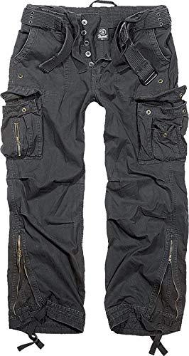 Brandit Royal Vintage Trousers Freizeithose - Schwarz M