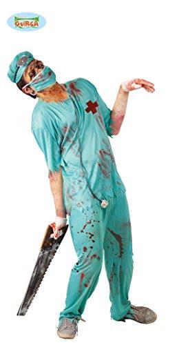 Disfraz de cirujano de quirfano zombie - Estndar