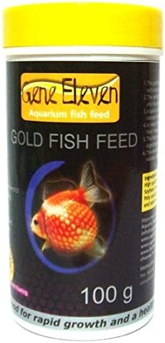 Gene Eleven Aquarium Gold Fish Feed (100 g)