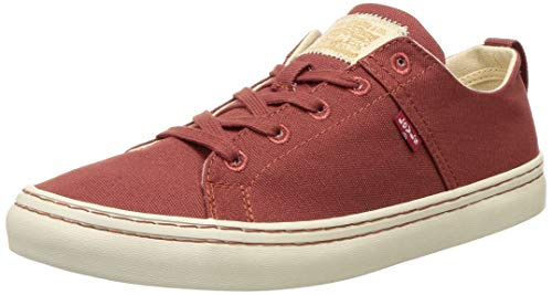 Levi's Men's Sherwood Low Dull Red Sneakers-9 UK (43 EU) (10 US) (38109-0263)
