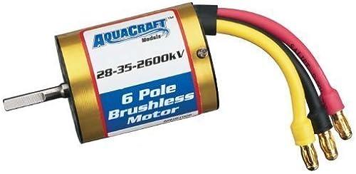 AQUACRAFT Brushless In-Runner Marine Motor 28-35-2600kV by Aquacraft