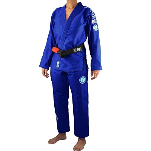 Bõa BJJ Gi Kimono Mujer Jogo No Chão 3.0 - Azul, F1