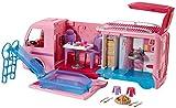 Barbie FBR34 Camper dei Sogni per Bambole con Piscina, Bagno, Cucina e Tanti Accessori, Giocattolo per Bambini 3 + Anni,