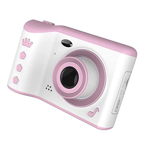LYYAN Mejor Cámara de Fotos para Niños con Juegos 16GB Tarjeta SD y Acollador Cámara Digital 1080P HD Video Juguetes 3-10 Años Regalo Niña Cumpleaños Infantil Regalo (Color : Pink)