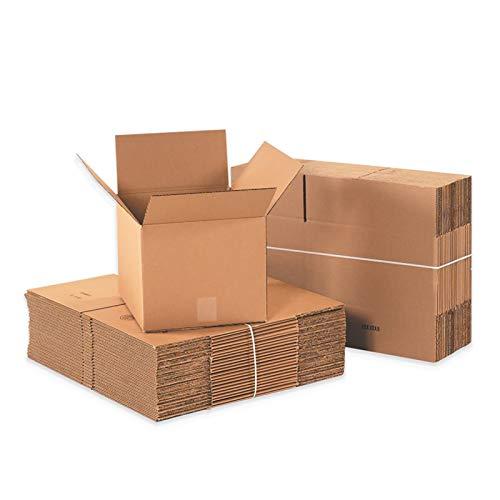 YI-LIGHT Cartón, Cajas de envío de Entrega de 100, Caja de Embalaje Grande para Mover, Engrosamiento de Cajas de cartón Corrugado, 17x8x11 Pulgadas (Size : 290 * 170 * 190mm)